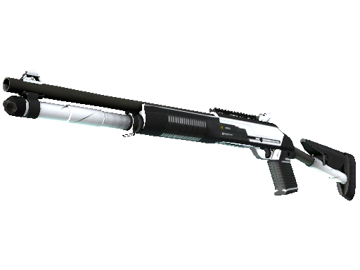 StatTrak™ XM1014 | Black Tie (Battle-Scarred)