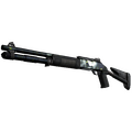 StatTrak™ XM1014 | Quicksilver <br>(Battle-Scarred)