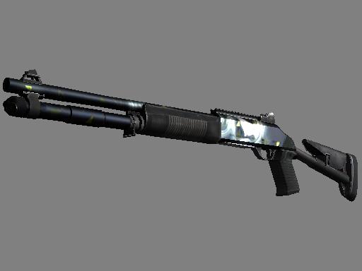 Скин StatTrak™ XM1014 | Ртуть (Прямо с завода)