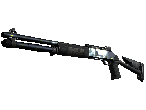 XM1014 | Quicksilver (Battle-Scarred)