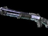 XM1014 | Blue Steel (Battle-Scarred)