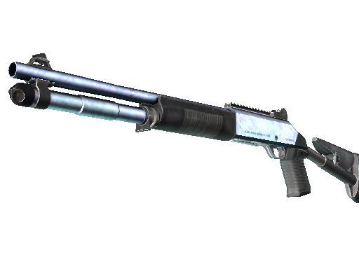 Souvenir XM1014 | Blue Steel (Battle-Scarred)