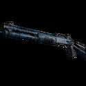 XM1014 | Смешанный синий камуфляж