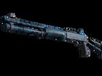 XM1014 Смешанный синий камуфляж