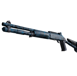Souvenir XM1014 | VariCamo Blue (Factory New)