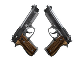 Weapon CSGO - Dual Berettas Black Limba