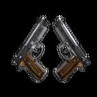 Dual Berettas | Black Limba (Field-Tested)