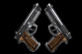 StatTrak™ Dual Berettas | Black Limba (Field-Tested) Price
