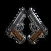 Dual Berettas | Black Limba <br>(Factory New)