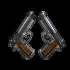 StatTrak™ Dual Berettas | Black Limba (Factory New)