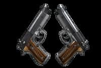 Dual Berettas | Black Limba (Factory New)