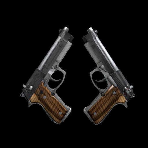 Dual Berettas | Black Limba - gocase.pro