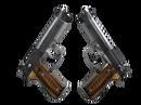 Dual Berettas   Black Limba