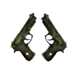 StatTrak™ Dual Berettas | Retribution (Minimal Wear)