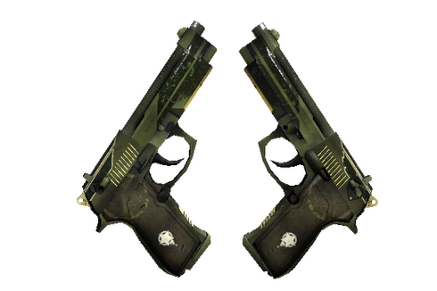 Buy StatTrak™ Dual Berettas | Retribution (Factory New)