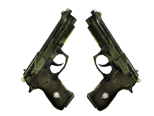 StatTrak™ Dual Berettas | Retribution