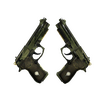 StatTrak™ Dual Berettas | Retribution <br>(Well-Worn)