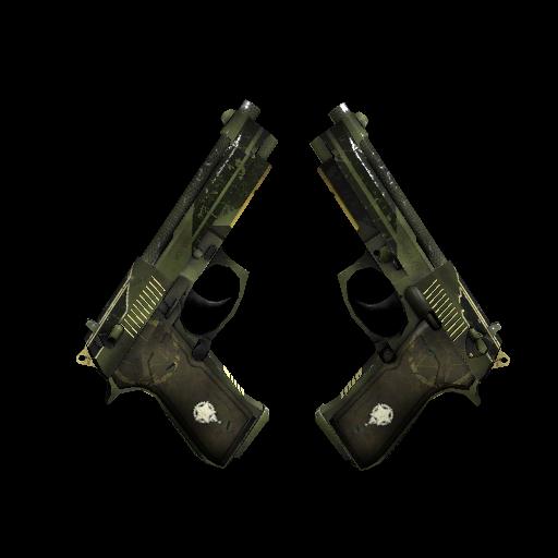 Dual Berettas | Retribution - gocase.pro