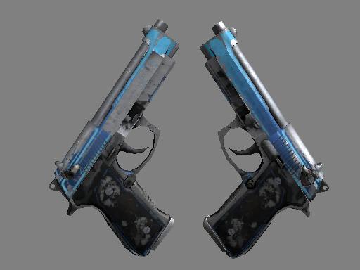 Скин Dual Berettas | Городской шок (Закаленное в боях)