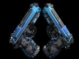 StatTrak™ Dual Berettas | Urban Shock (Minimal Wear)