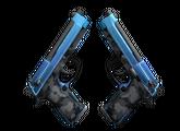 StatTrak™ Dual Berettas   Городской шок, Немного поношенное, 132.87$