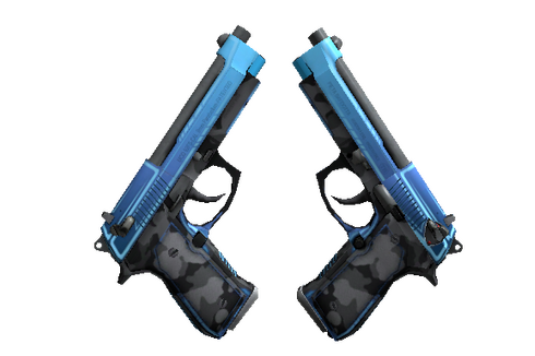 StatTrak™ Dual Berettas | Urban Shock (Minimal Wear) Prices