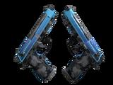 StatTrak™ Dual Berettas | Urban Shock (Field-Tested)