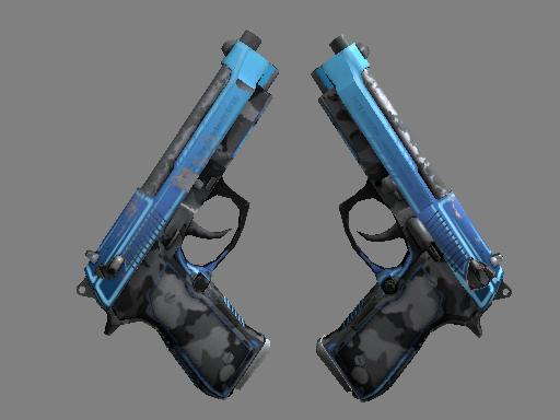 StatTrak™ Dual Berettas | Urban Shock