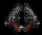 StatTrak™ Dual Berettas | Dualing Dragons (Battle-Scarred)