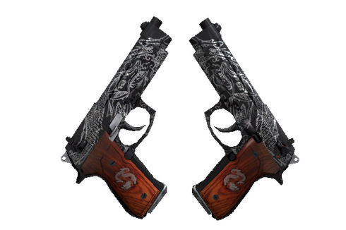 Buy Dual Berettas | Dualing Dragons (Well-Worn)