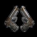 Dual Berettas   Cartel <br>(Battle-Scarred)