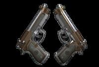 Dual Berettas | Cartel (Battle-Scarred)