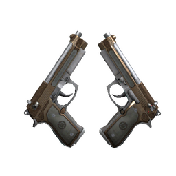 StatTrak™ Dual Berettas | Cartel (Battle-Scarred)