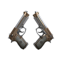 StatTrak™ Dual Berettas | Cartel <br>(Field-Tested)