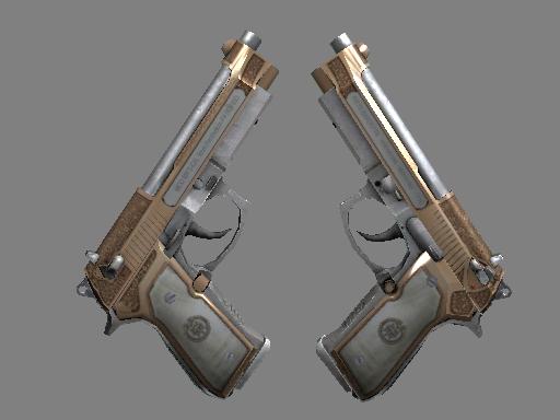 Dual Berettas  |  Cartel  Factory New