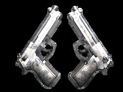 Dual Berettas | Патина (После полевых испытаний)