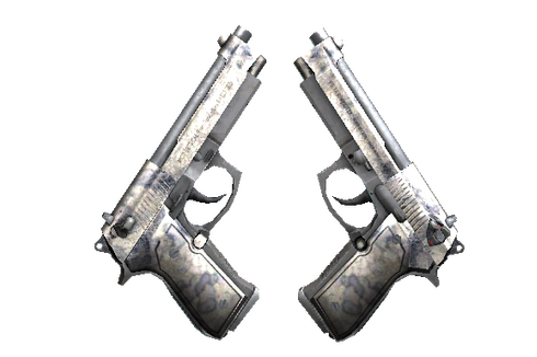 Dual Berettas | Stained (Battle-Scarred) Prices