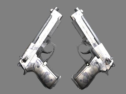 Скин Dual Berettas | Патина (Немного поношенное)