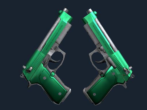 Dual Berettas | Emerald