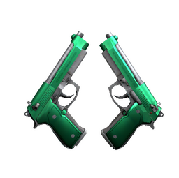 Dual Berettas | Emerald (Factory New)