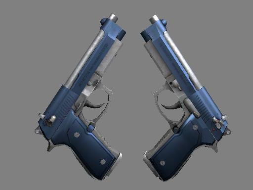 Souvenir Dual Berettas | Anodized Navy