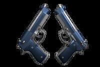 Dual Berettas | Anodized Navy (Factory New)