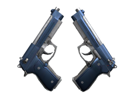 Dual Berettas   Анодированная синева (Прямо с завода)