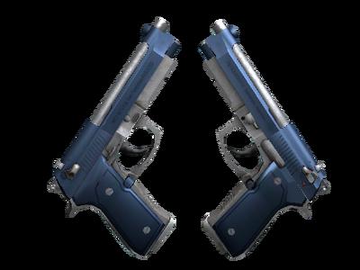 Dual Berettas | Анодированная синева (Прямо с завода)