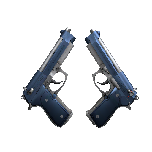 Dual Berettas | Anodized Navy - gocase.pro