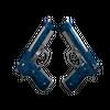 Dual Berettas   Cobalt Quartz (Factory New)