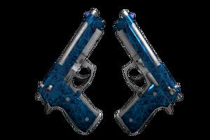 Dual Berettas Cobalt Quartz Factory New