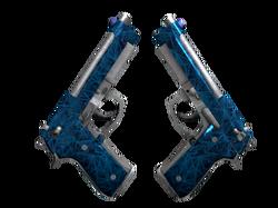 Dual Berettas | Синий кварц (Прямо с завода)