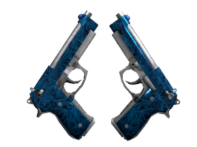 Dual Berettas   Синий кварц (Прямо с завода)