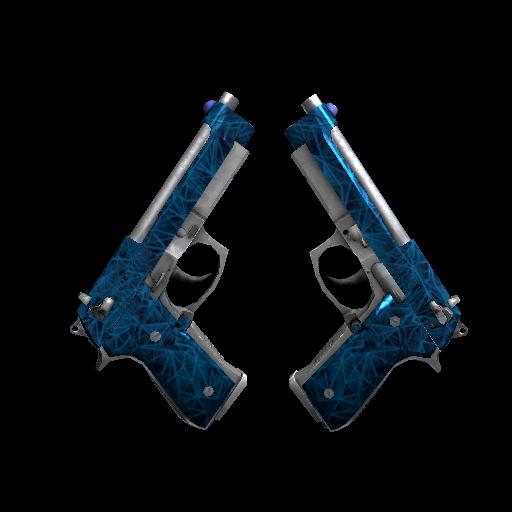 Dual Berettas | Cobalt Quartz - gocase.pro